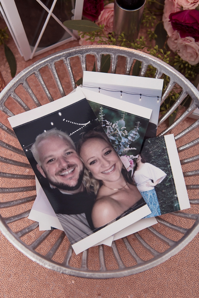 Photo prints for your wedding guests could make really fun favors!