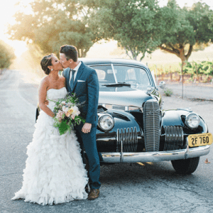 We are in LOVE with this super dreamy vineyard wedding!