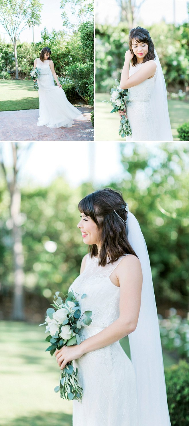 The light and airy vibes from this gorgeous bride topped our list!