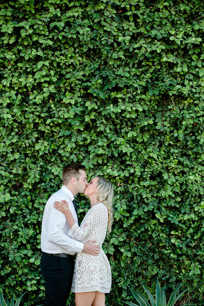 We love this super sweet urban engagement session!