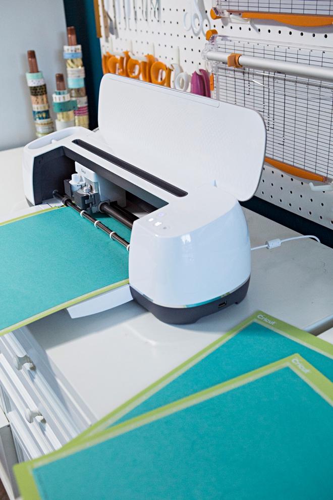 Use your Cricut Maker to create a custom doormat stencil!