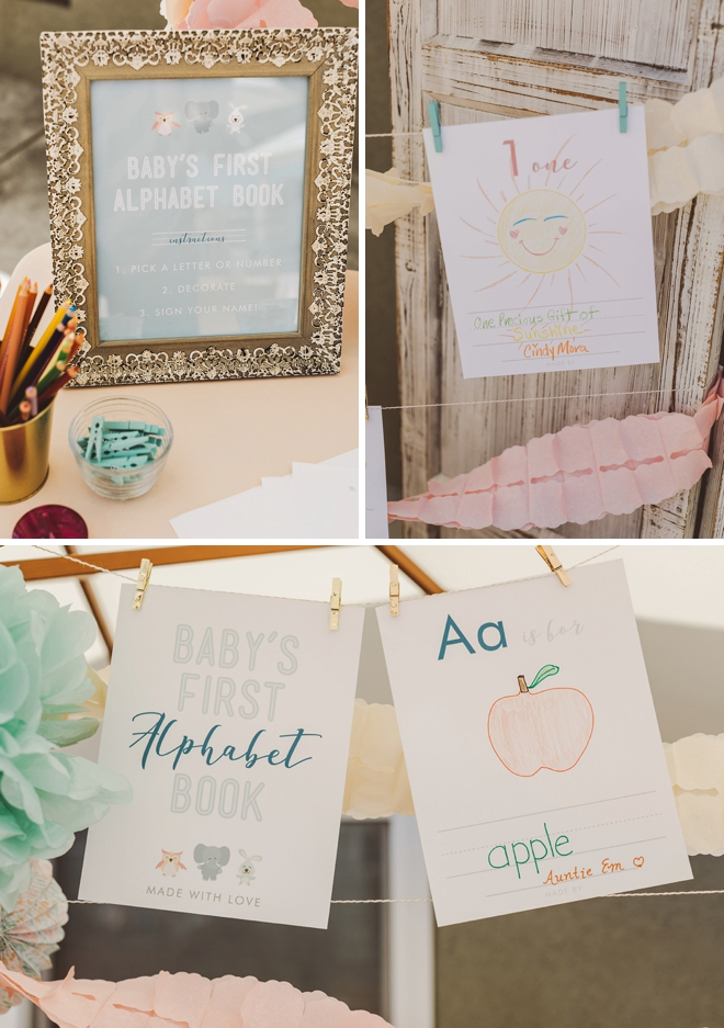 This Free Printable Baby S First Alphabet Book Is The Cutest