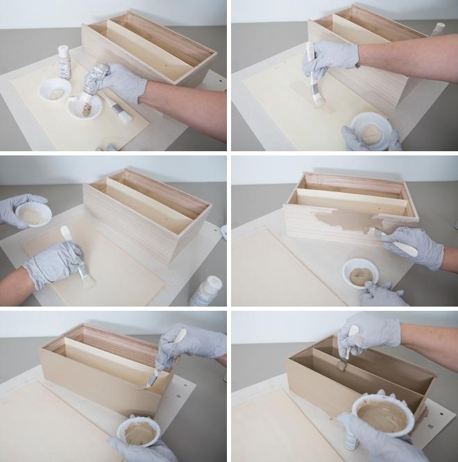 Learn how to make your own wedding wine keepsake box!