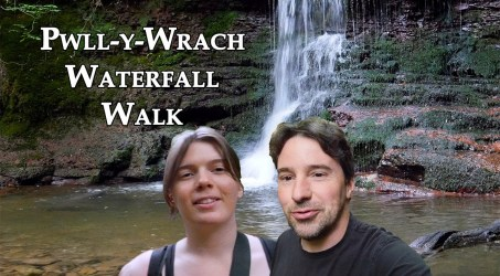 Exploring Pwll-y-Wrach Waterfalls