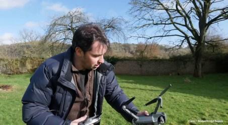 Ian's First Mavic Pro Drone Flight…..  and First Crash!