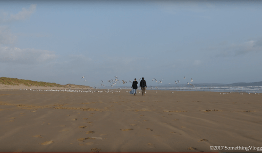 This Week- On Pembrey Beach and Getting There