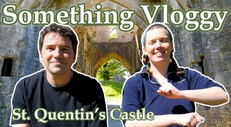 We Check out The Ruins of A 14th Century Castle – St. Quentin's Castle