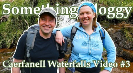 Waterfall Chasing Up The Caerfanell River #3 (Talybont #5) Video