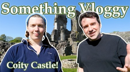 We Explore the 12th-Century Ruins of Coity Castle