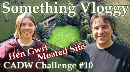 Hen Gwrt Moated Site – The Moat With No Castle – CADW Challenge #10