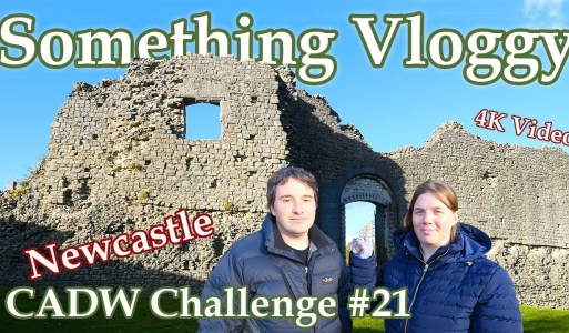 Newcastle – It's A Castle – So Good They Named It Once – CADW Challenge #21
