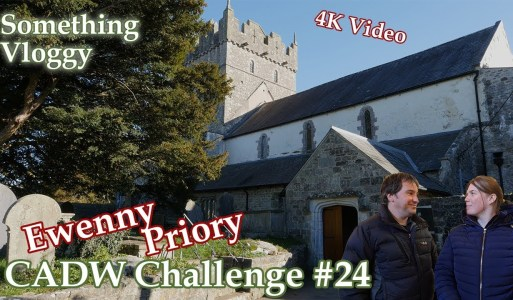 Ewenny Priory – It has Relics, A Good Echo, And A Very Strange Layout – CADW Challenge #24