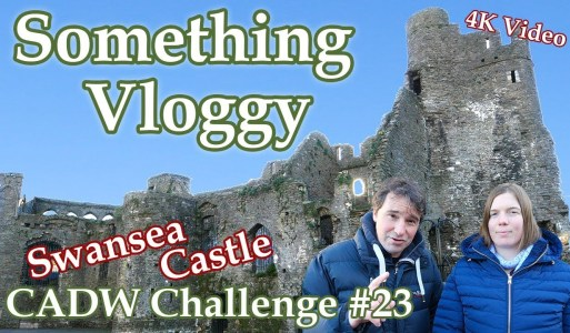Swansea Castle – Small Ruin, Big Story – CADW Challenge #23