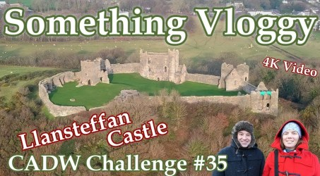 Llansteffan Castle – The Beautiful And Magnificent Norman Fortification – CADW Challenge #35