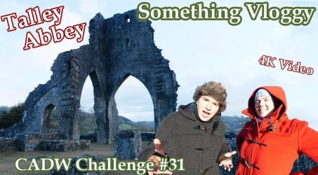 Talley Abbey – When You Want An Abbey But Run Out Of Money- CADW Challenge #31
