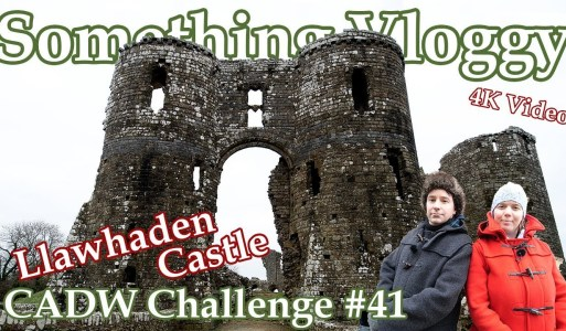 Llawhaden Castle – ♗ Bishop Takes Castle ♖ – CADW Challenge 41/130
