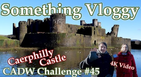 Caerphilly Castle – The Biggest Castle In Wales – CADW Challenge 45/130