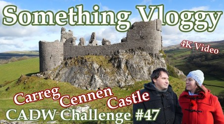 Carreg Cennen – The  Castle With A Cave – Cadw Challenge 47/130