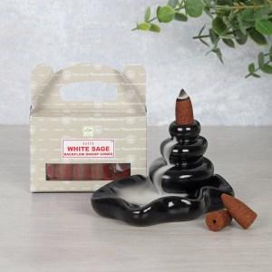 Sage Dhoop Cones
