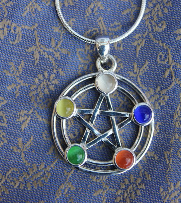 Five colour pentacle