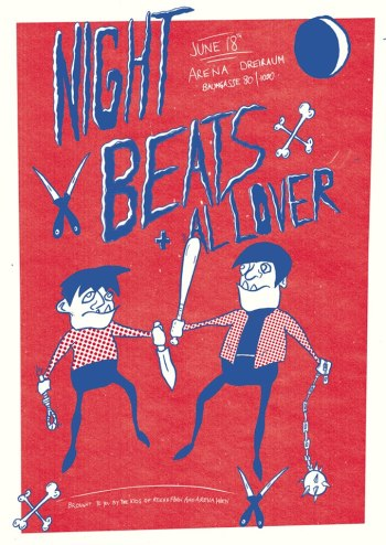 Night Beats Flyer