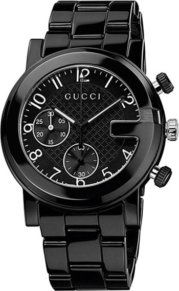 1. gucci-black-g-chrono-black-chronograph-watch