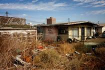 Salton Sea abandoned house