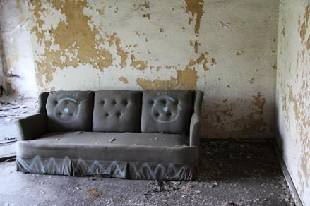 Ambassador Apartments couch