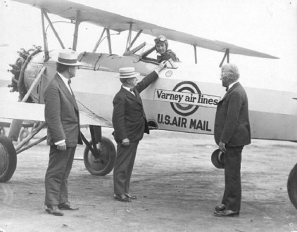 early airmail flight