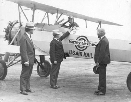 early airmail flight