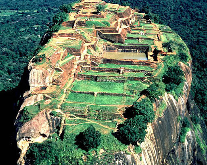Image result for lion rock in sigiriya