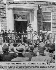Forest Haven Eleanor Roosevelt address