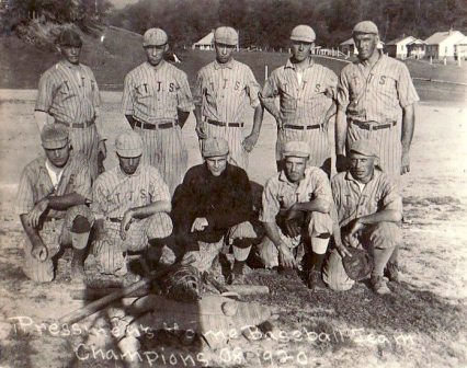 1920 Pressmen's Home baseball team champions