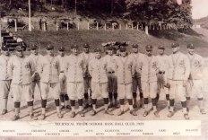 Technical Trade School baseball club 1924