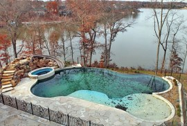 a neglected pool post-bankruptcy