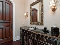 guest bathroom fit for a king