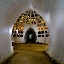 Beautiful arched hallways