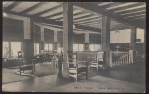 Office Interior, 1907