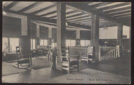 Office Interior, 1907