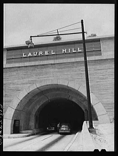 Laurel Hill Tunnel, circa 1940