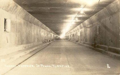 PT tunnel construction, circa 1940