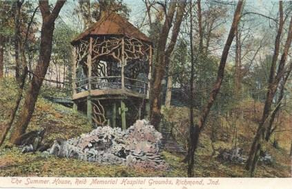 Reid-Hospital-Richmond-Indiana-vintage-1911-Summer-House