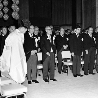 Opening ceremony, May 1962