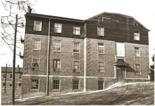 South elevation of Wallace Hall, circa 1983