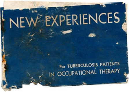 glenn dale hospital new experiences for TB patients occupational therapy booklet