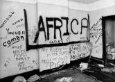 Graffiti in 1973 HoJo sniper's room revealed a troubled mind.