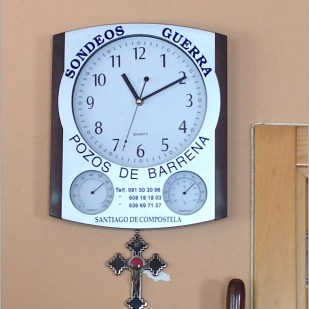Taking pictures of clocks was a way to keep track of time on the Camino.