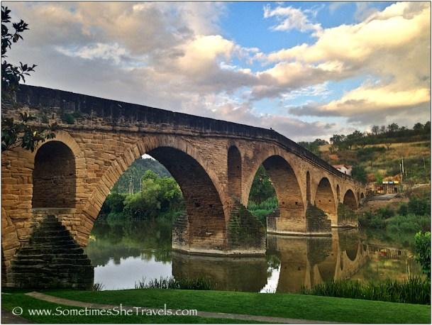 Puente La Reina, June 2014 Camino Francés