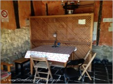 Kitchen in La Hutte