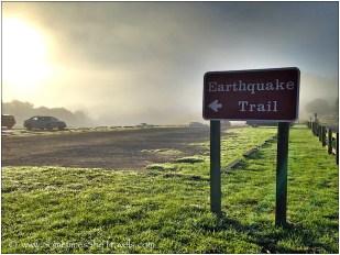 Hmm, shall we take the Earthquake Trail?
